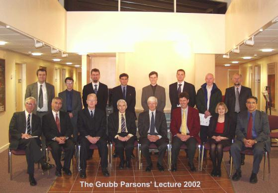 The Grubb Parsons' Group Photograph